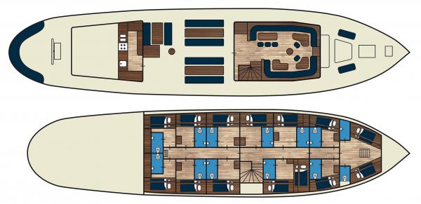 Floorplan of Flying Dutchman